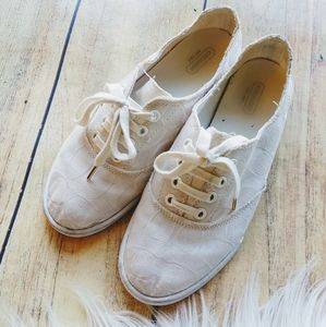 COACH white signature Katie shoes sneakers